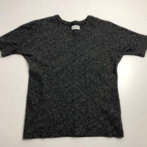 Everlane Wool T-shirt Womens Medium Gray